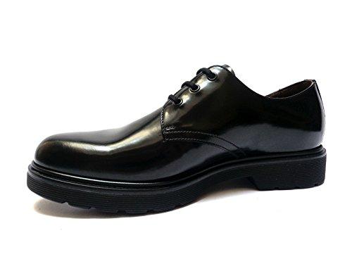 Nero Giardini scarpe da uomo in pelle abrasivata col. Nero, n. 41