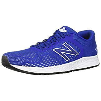 New Balance Men's Arishi V2 Fresh Foam Running Shoe, Team Royal/White, 10 D US