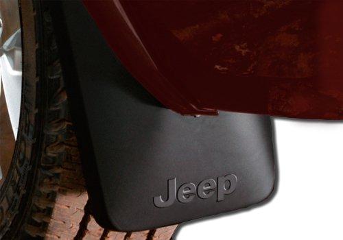 Mopar OEM Jeep Grand Cherokee Deluxe Molded Splash Guards - 82204354
