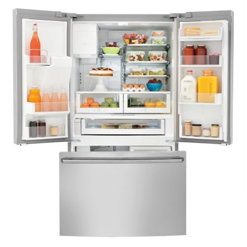 Electrolux EW23BC85KS Wave-Touch 22.6 Cu. Ft. Stainless Steel Counter Depth French Door Refrigerator - Energy Star by Electrolux (Image #4)