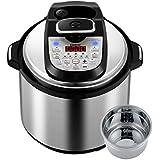Gtime 6 Qt 36 Kinds of Cooking Method Choice Multi-Use Programmable Electric Pressure Cooker, Slow cook, Rice Cook, Steam, Sous Vide, Canning, Sauté, Cake, Hot Pot, Egg Cooker, Fryer, Yogurt Machine, Warmer, Sterilizer