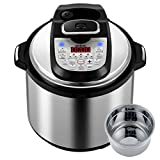 Appliances : Gtime 6 Qt 18 Kinds of Cooking Method Choice Multi-Use Programmable Electric Pressure Cooker, Slow cook, Rice Cook, Steam, Sous Vide, Canning, Sauté, Cake, Hot Pot, Egg Cooker, Fryer, Yogurt Machine, Warmer