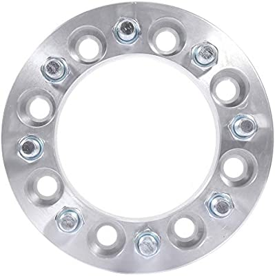 ROADFAR 2 inch Wheel spacers Replacement Parts 8x6.5 to 8x6.5 9//16 130mm fits for 1994-2001 Dodge Ram 1500