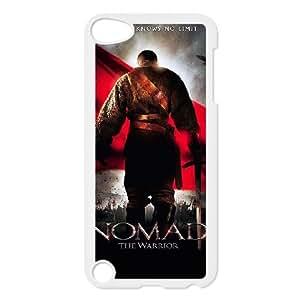 Alta resolución Nomad El Guerrero del cartel iPod Touch 5 Case funda blanca del teléfono celular Funda Cubierta EEECBCAAL72421