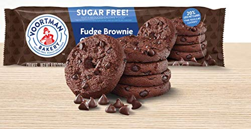 Voortman Fudge Brownie Chocolate Chip Sf Cookies Pack Of 4