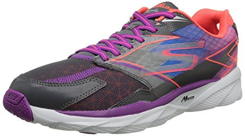 Skechers Performance Women's Go Run Ride 4 Running Shoe Charcoal/Purple cheap sale big discount 4IW0iyb