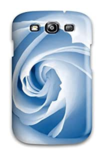 lintao diy High-end Case Cover Protector For Galaxy S3(blue Blossom)