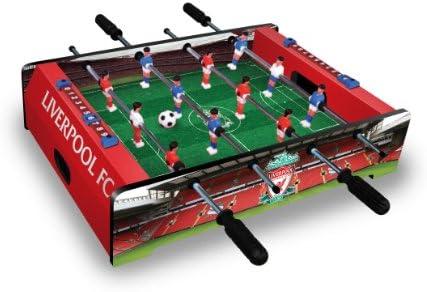 Hy-Pro - Futbolín de mesa del Liverpool, color rojo/negro/verde ...