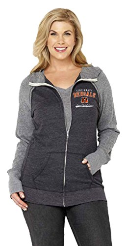 Cincinnati Bengals Full Zip Fleece - 4