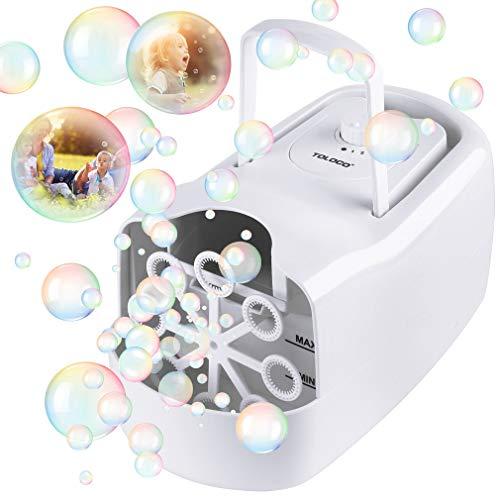 TOLOCO Bubble MachineAutomatic Bubble