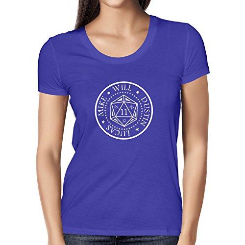 NERDO Strange Cube - Damen T-Shirt, Größe L, marine