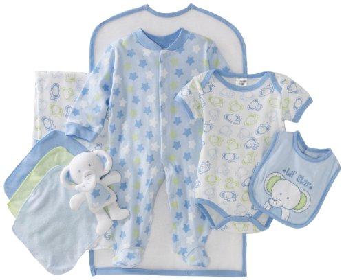 Cutie Pie Baby-boys Newborn Lil' Star 9 Piece Set In Garment Bag