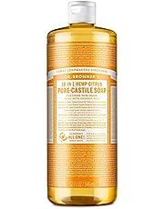 Dr. Bronner's Citrus Orange mydło w płynie, 944 ml, mydło naturalne