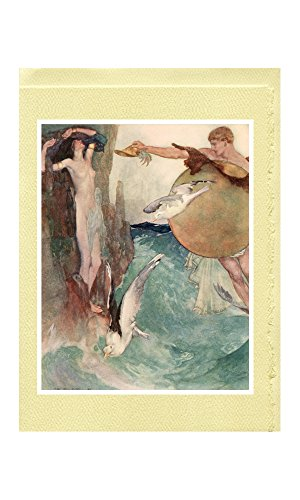 "William Russell Flint Greeting Cards (12 Designs from ""The Heroes; or, Greek Fairy Tales for My Children"" [1912])"