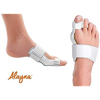 Bunion Corrector and Bunion Relief Orthopedic Bunion Splint Pads for Men and Women Hammer Toe Straightener and Bunion Protector Cushions- Relieve Hallux ...