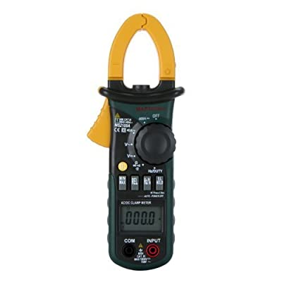 Mastech MS2108A Auto Range DC AC Current Digital Clamp Meter Multimeter Voltage Frequency Meter