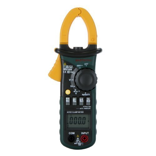 Digital Frequency Meter (Mastech MS2108A Auto Range DC AC Current Digital Clamp Meter Multimeter Voltage Frequency Meter)