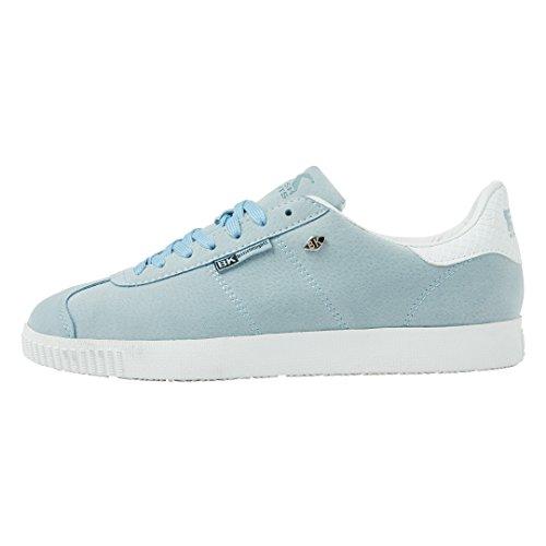 Sininen Naisten Top Lt Ritarit Osoittavat Valkoinen Matalan British Sneaker Eza0I