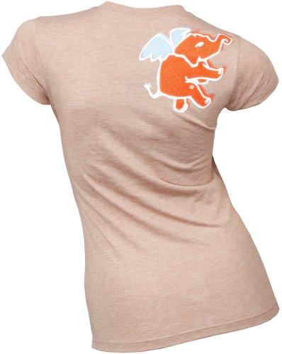 Hoopla Skateboards Logo Damen-T-Shirt, Farbe kann variieren