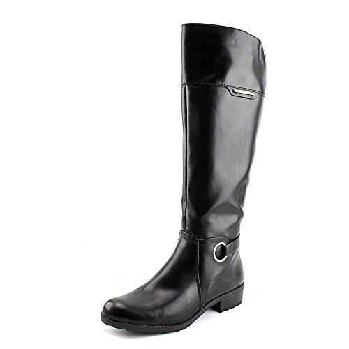 High Equestrian Jadah Black Boot Alfani Women's Knee Leather PtwZWAq