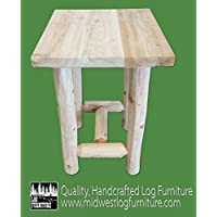 Midwest Log Furniture - Log Economy Nightstand