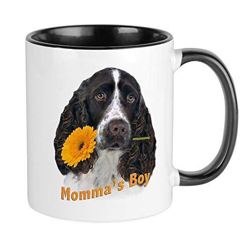 CafePress Springer Spaniel Momma's Boy Mug Unique Coffee Mug, Coffee Cup