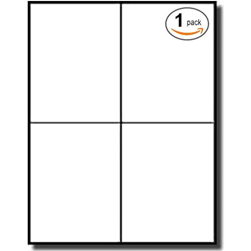 4-labels-per-sheet-400-white-blank-quarter-sheet-self-adhesive-shipping-labels-for-ups-usps-fedex-dh