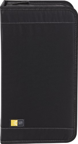 Case Logic CD/DVDW-92 100 Capacity Classic CD/DVD Wallet (Black), Best Gadgets