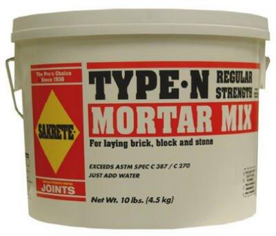 - Sakrete 62300381-RDC09 10 lbs. Mortar Mix