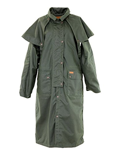 Outback Trading 2042 Men's Low Rider Duster Trenchcoats, Green - 3XL (Outback Lowrider)
