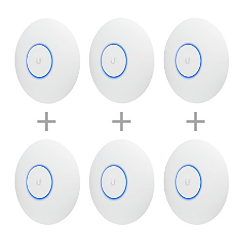 Ubiquiti Networks UAP-AC-PRO-E Access Point (No PoE Included In Box) Parent (Access Point (No PoE) 6-Pack)