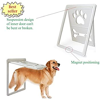 Amazon Pet Dog Door For Screens Two Way Self Locking Screen