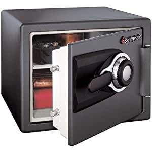 Sentry Fire-resistant 0.8 Cu. Ft. Safe, Mso100, Grey