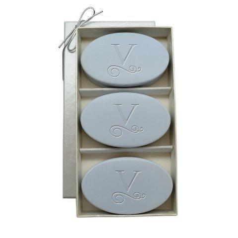 Flourish Trio - Carved Solutions Signature Spa Trio Wild Blue Lupin-Pi-Flourish-S Soap