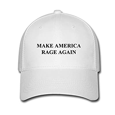 Kaho Popular Unisex Baseball Cap Adjustable Hat Make America Rage Again Logo