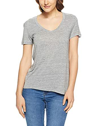 Levi's Women's Essential V Neck, Smokestack Heather, L - Grey