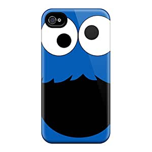 Scratch Resistant Hard Phone Cover For Iphone 6plus With Custom Colorful Cookie Monster Series JasonPelletier