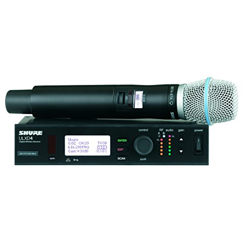 Price comparison product image Shure ULXD24 / B87A H50 / Single Beta 87A Handheld Wireless System ULXD4 ULXD2 / B87A