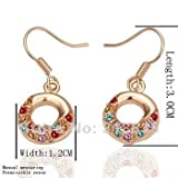 Clero Jewelry KE021 Necklace pendant Austria crystal fashion jewelry Necklacewhite/gold/Rose Plate bopa kfwa sxfa hot topic earrings