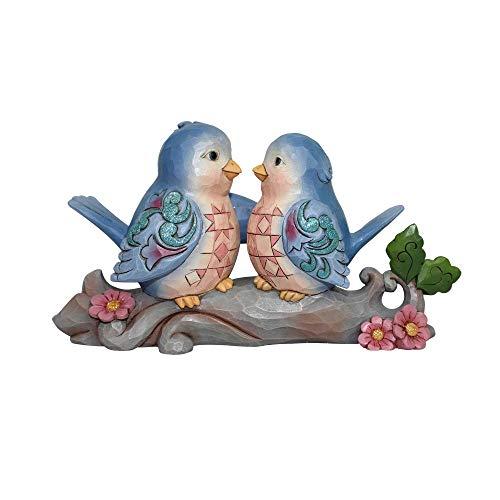 Enesco Heartwood Bluebirds Figurine Multicolor