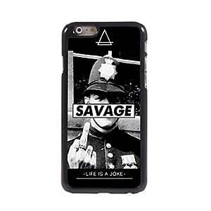 LZX Savage Design Aluminum Hard Case for iPhone 6 Plus