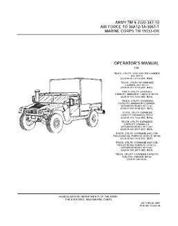m1165 humvee tm manual rh m1165 humvee tm manual mollysmenu us M998 HMMWV hmmwv pmcs checklist