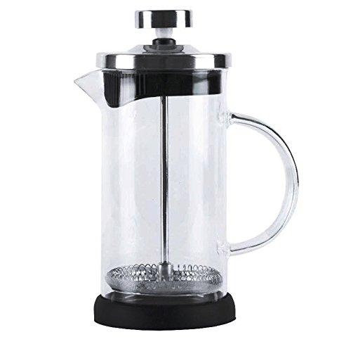 Acquisto Top Finel Caffettiere a pistone Tazza per caffè espresso in acciaio inossidabile vetro resistente pressofiltro 36oz /1000ml Prezzi offerta