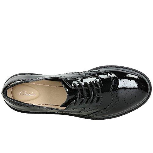 Patent Shoe Black Alexa Clarks Womens Darcy qaxAZ4U