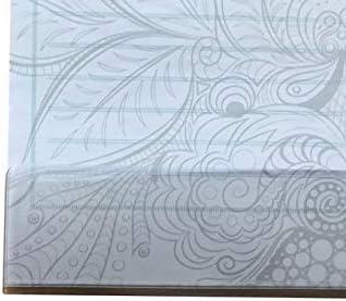 Schreibtischunterlage Papier mit Schutzleiste Wochenplaner//Notizen gr/ün grau 25 Blatt 59,4 x 42 cm DIN A2