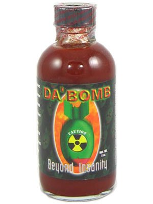 Da Bomb Sauce - Da Bomb Beyond Insanity Hot Sauce (Pack of 12)