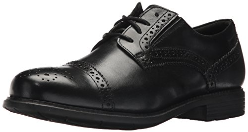 Rockport Men's Total Motion Dress Cap Toe Shoe, Black, 7.5 M US by Rockport