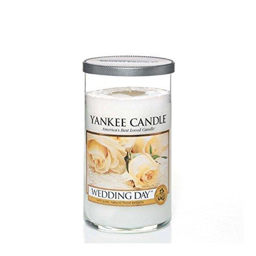 Yankee Candles Medium Pillar Candle - Wedding Day (Pack of 6) - ヤンキーキャンドルメディアピラーキャンドル - 結婚式の日 (x6) [並行輸入品] B01MSOXJ5I
