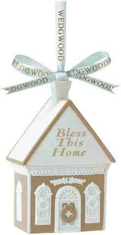 Wedgwood Bless This Home Ornament