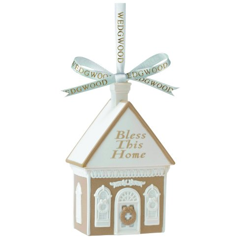 Wedgwood Bless This Home Christmas Ornament